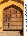 Antique Wooden Door   Amer For...