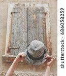 summer time in rovinj  | Shutterstock . vector #686058259