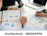 business concept. business...   Shutterstock . vector #686064946
