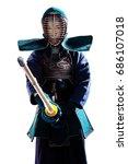 Male In Tradition Kendo Armor...