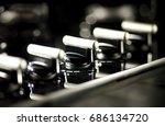 close up oven detail | Shutterstock . vector #686134720