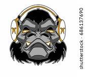 Bad Monkey Gorilla Headphones