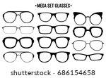 sun glasses | Shutterstock .eps vector #686154658