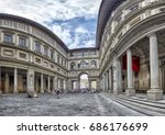Uffizi Gallery In Florence...