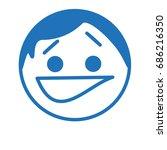 emoji with smirking biting lip...