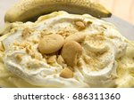 banana pudding | Shutterstock . vector #686311360