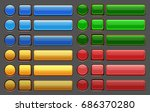 game buttons gui pack. vector...