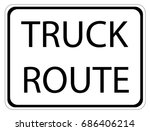 united states traffic sign  ... | Shutterstock .eps vector #686406214