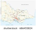 Road Map Of The Australian...