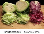 Shredded Red Cabbage  Green...