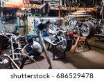 Bike Customs Shop With Tattooe...