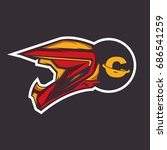 motocross logo | Shutterstock .eps vector #686541259