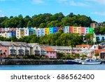 bristol cityscape  natural... | Shutterstock . vector #686562400