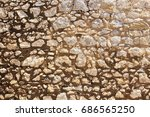 Medieval Beige Stone Wall From...
