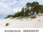 baltic sea coastline near...   Shutterstock . vector #686606434