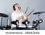 drummer   Shutterstock . vector #68662666