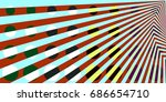 simple but complex color block  ... | Shutterstock . vector #686654710