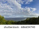 aerial view of stenshuvud... | Shutterstock . vector #686654740