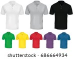 vector illustration of blank...   Shutterstock .eps vector #686664934