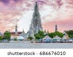 bangkok  thailand 9 july 2017 ... | Shutterstock . vector #686676010