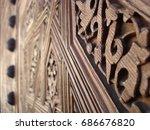 Small photo of Arabesques in Wood (Alhambra - Granada)