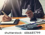 business and finance concept of ... | Shutterstock . vector #686685799