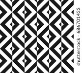 geometric seamless pattern.... | Shutterstock .eps vector #686701423