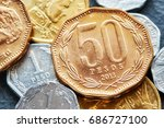 extreme close up picture of...   Shutterstock . vector #686727100
