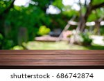 blurred background of home... | Shutterstock . vector #686742874