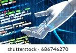 artificial intelligence  ai ... | Shutterstock . vector #686746270