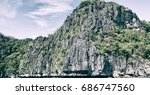 in  philippines  view from a... | Shutterstock . vector #686747560