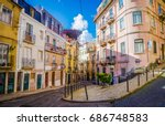 lisbon  portugal   march 25 ... | Shutterstock . vector #686748583