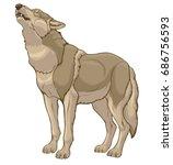 chromatic illustration of a... | Shutterstock .eps vector #686756593