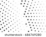 abstract halftone dotted... | Shutterstock .eps vector #686769280