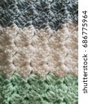 Small photo of corner to corner crochet