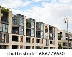 modern  luxury apartment...   Shutterstock . vector #686779660