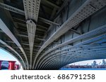 london   july 27   view of the... | Shutterstock . vector #686791258