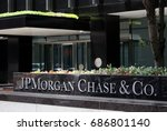 Small photo of NEW YORK - JULY 16: The JPMorgan Chase & Co. headquarters on Park Avenue in New York, NY on July 16, 2017. JPMorgan Chase is an American multinational banking and financial services holding company.