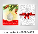 template front and back....   Shutterstock .eps vector #686806924