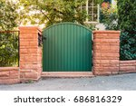 Garden Rustic Entrance Gate...