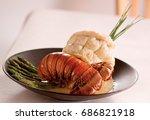 lobster tail | Shutterstock . vector #686821918