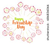 Friends Day Card Or Banner...