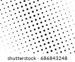 abstract halftone dotted... | Shutterstock .eps vector #686843248