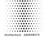 abstract halftone dotted... | Shutterstock .eps vector #686848474
