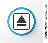 eject button icon symbol....