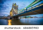 Tower Bridge At Blue Hour