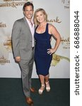 Small photo of BEVERLY HILLS - JUL 27: Shawn Christian and Alison Sweeney arrives to the Hallmark Channels Summer Press Tour on July 27, 2017 in Beverly Hills, CA