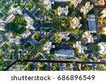 Aerial View Of Buildings On...