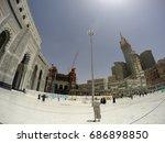 mecca  saudi arabia  13 april... | Shutterstock . vector #686898850