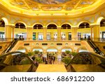 macau china   apr 22 2017  the... | Shutterstock . vector #686912200
